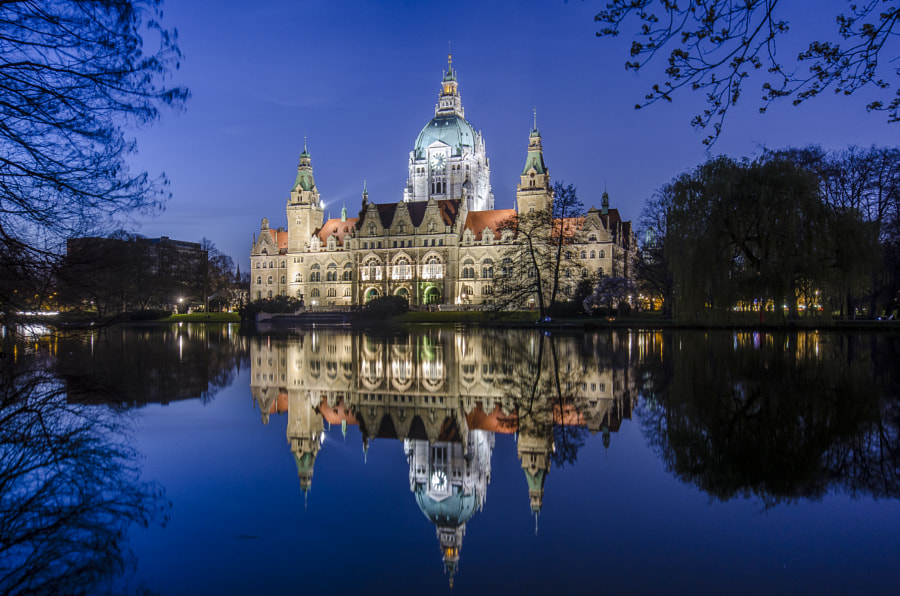 Photograph Townhouse Hannover by Jan B. on 500px