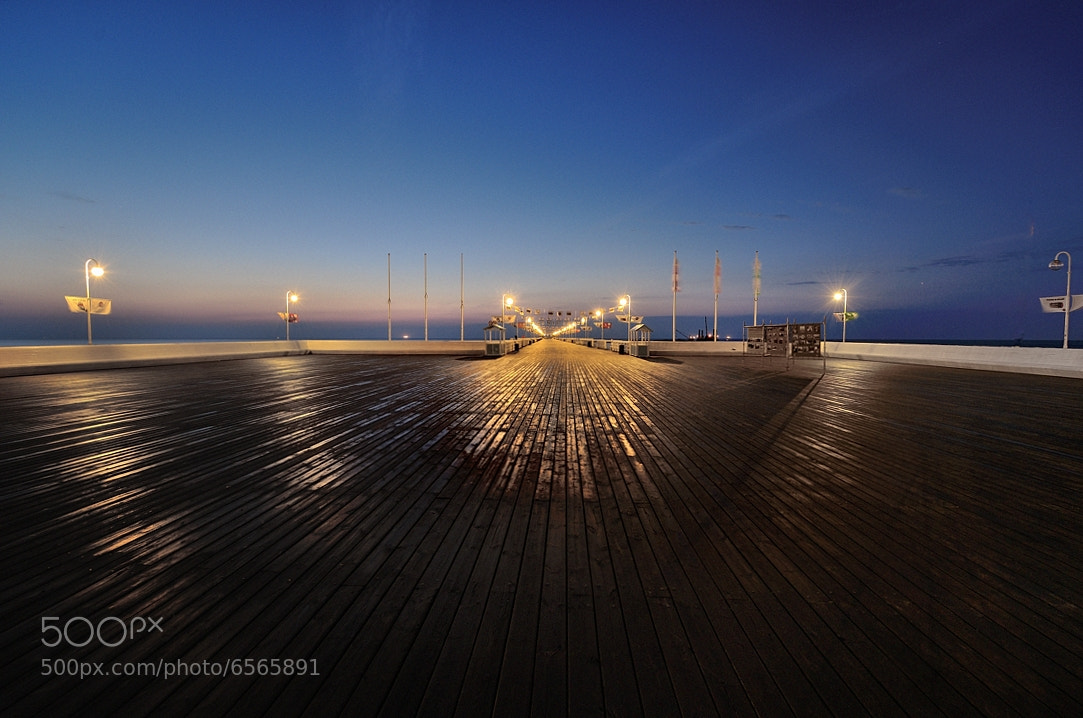 Photograph Pier in Sopot..... by Mirek  . on 500px