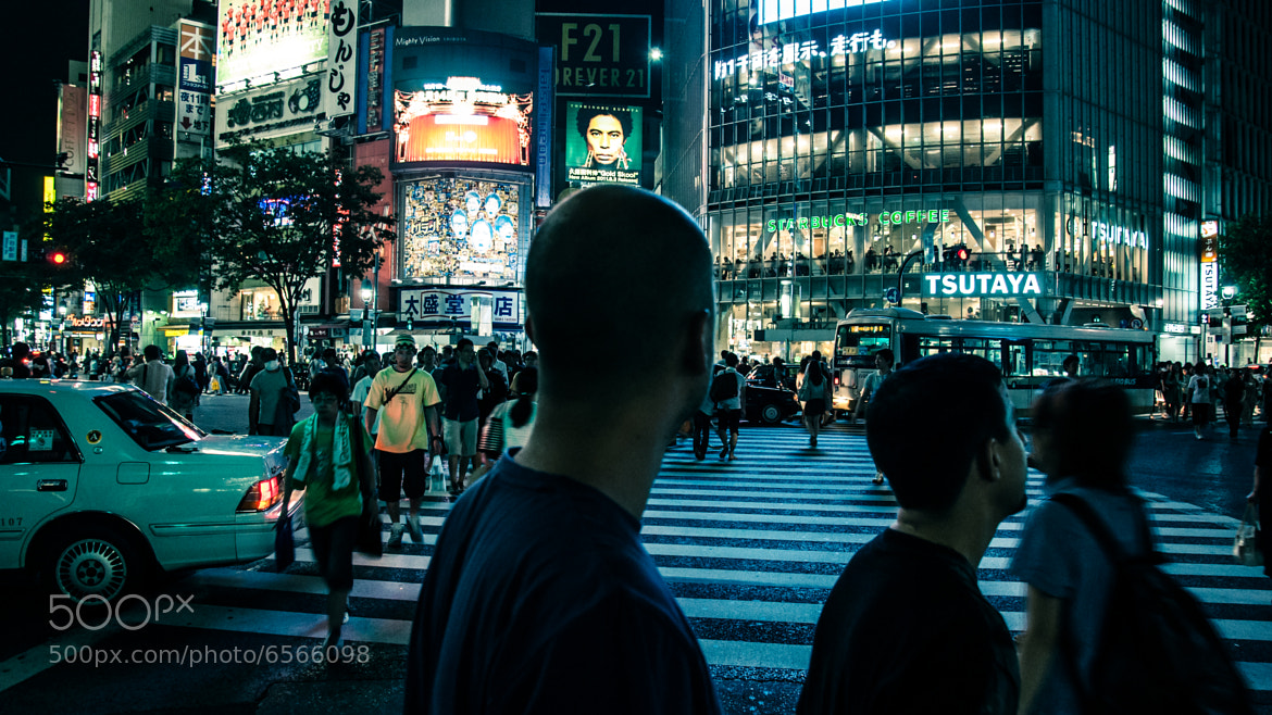 Photograph discovering shibuya by Sergio Morales on 500px