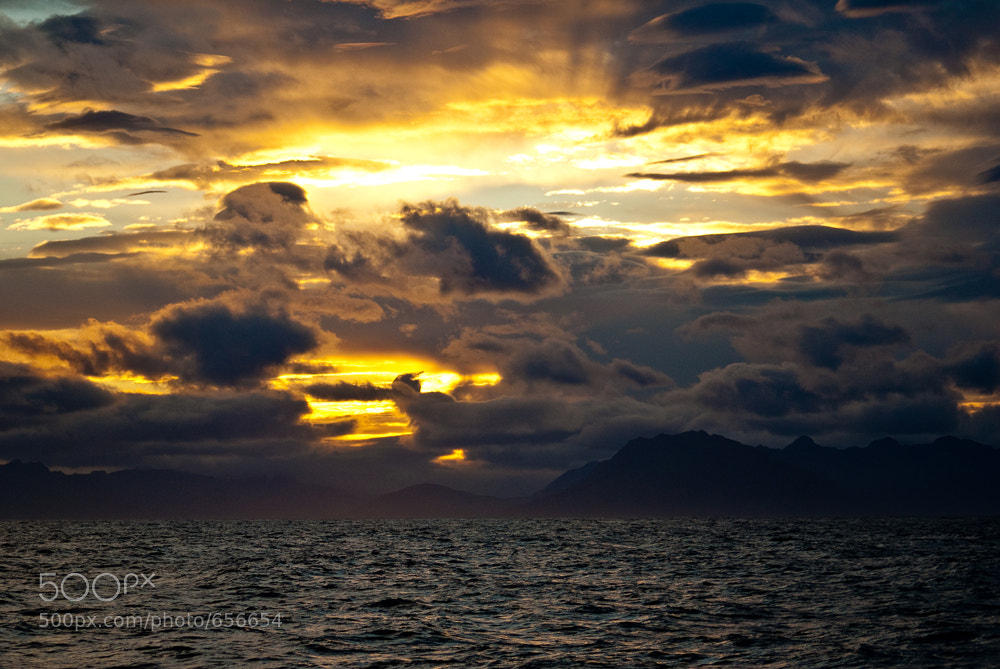 Photograph Sunset on sea by Eyþór Jóvinsson on 500px