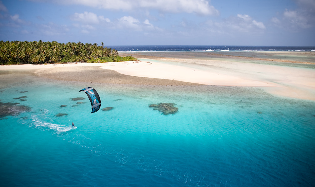 Photograph Kiteboarding in Micronesia by Jody MacDonald on 500px