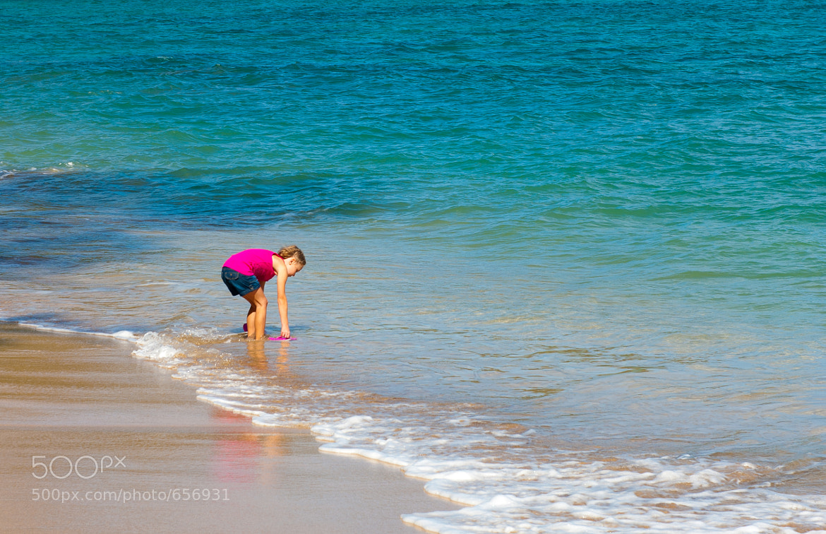 Photograph Girl by the beach by Supremus D on 500px