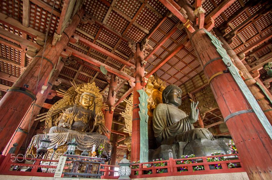 Photograph Nara's Daibutsu by Agustin Rafael Reyes on 500px