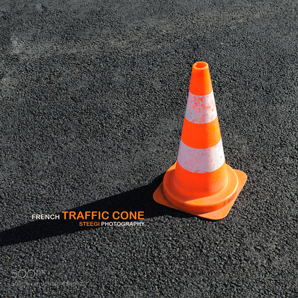 Photograph French Traffic Cone by Andreas Steegmann on 500px