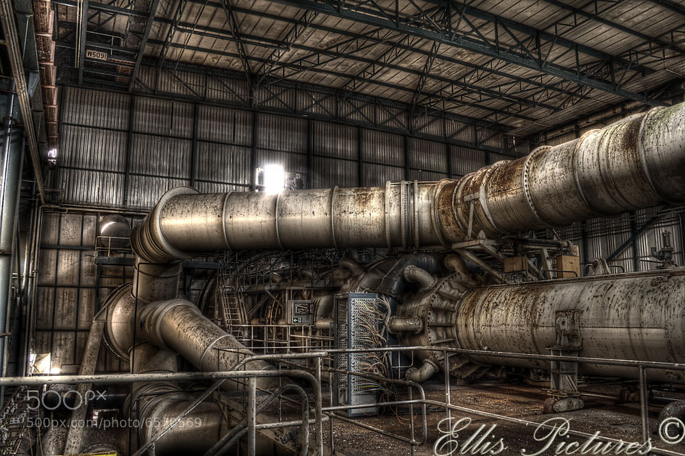 Photograph The Mechanical Heart by Steven Ellis on 500px