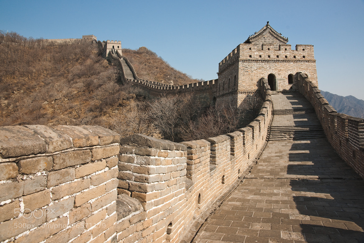 Photograph The Great Wall of China by William Saar on 500px
