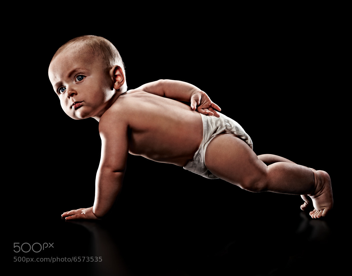 Photograph Push Up Baby by Eric Sahrmann on 500px