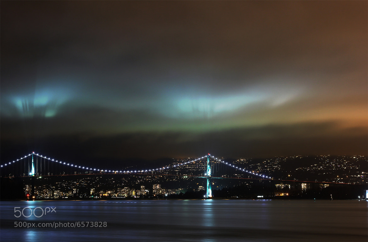 Photograph Vancouver Lions Gate Bridge by saleh almozini on 500px
