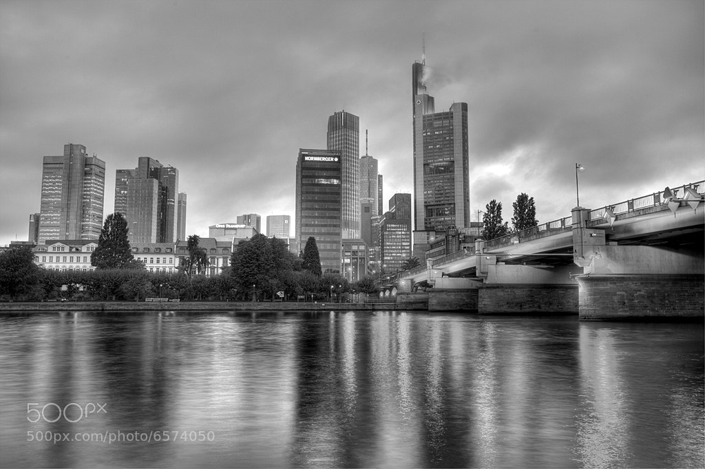 Photograph Frankfurt in Black & White by Ander Aguirre on 500px