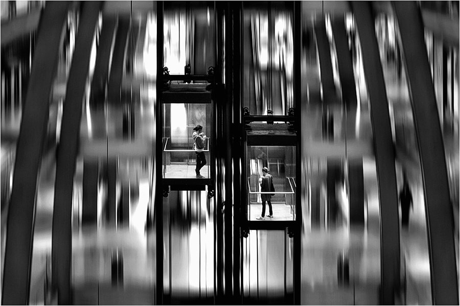 Photograph elevator by Kai Ziehl on 500px