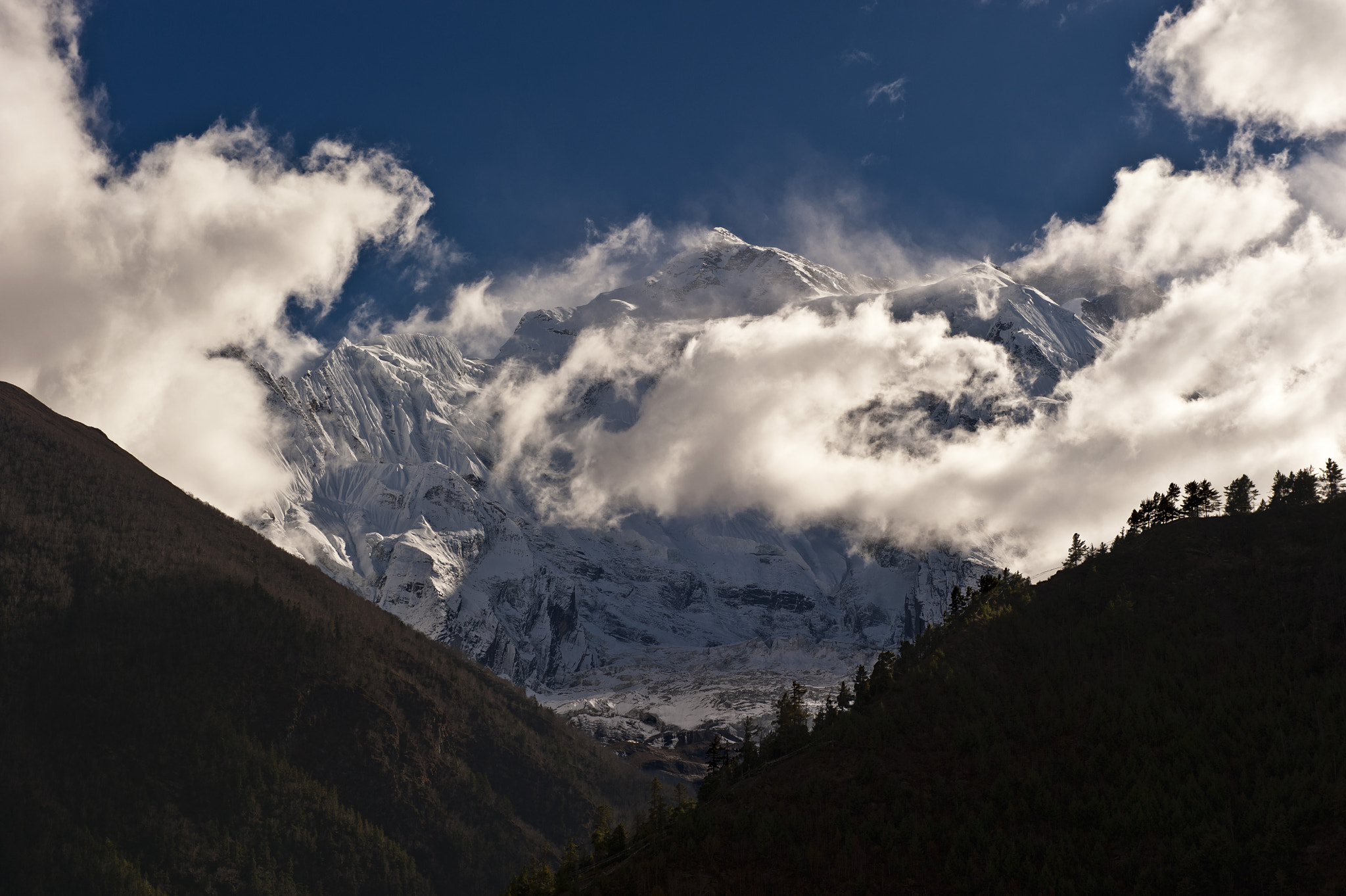 Photograph Annapurna II by Cris RM on 500px