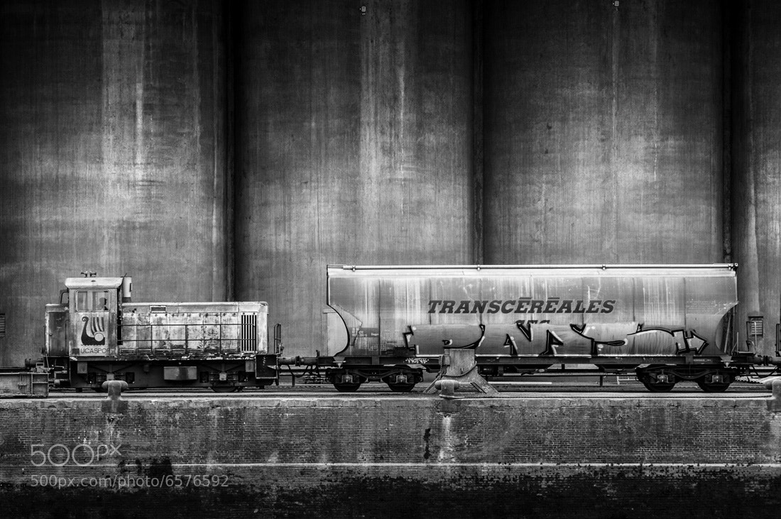 Photograph Train Wagon Silo by Jean-Baptiste Poulain on 500px