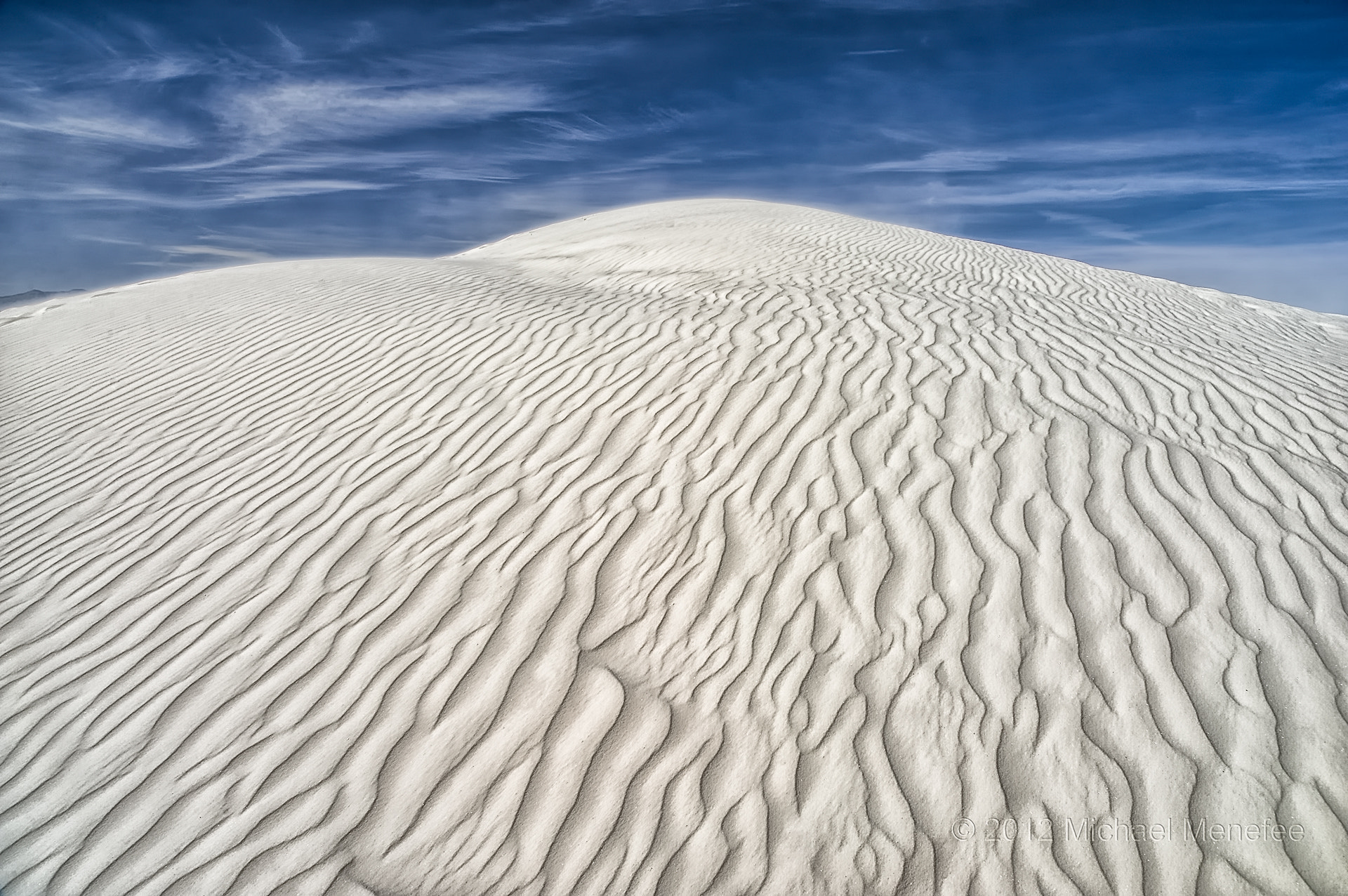 Photograph The Contours of White Sands National Monument by Michael Menefee on 500px
