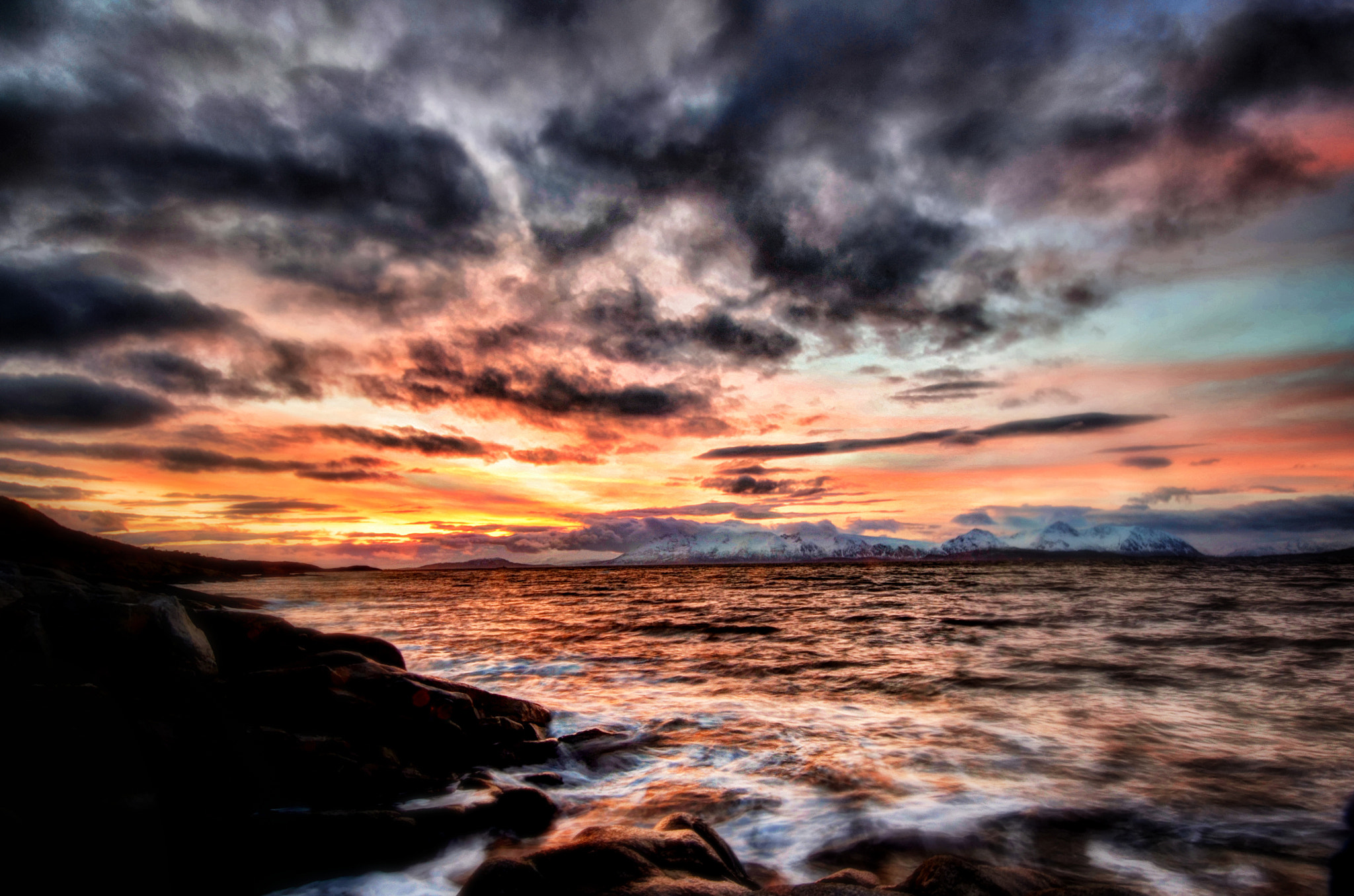 Photograph Last rays of the sun by Trond Eriksen on 500px