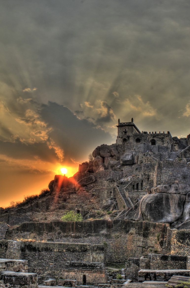 Photograph golconda fort by mohamad khademi on 500px