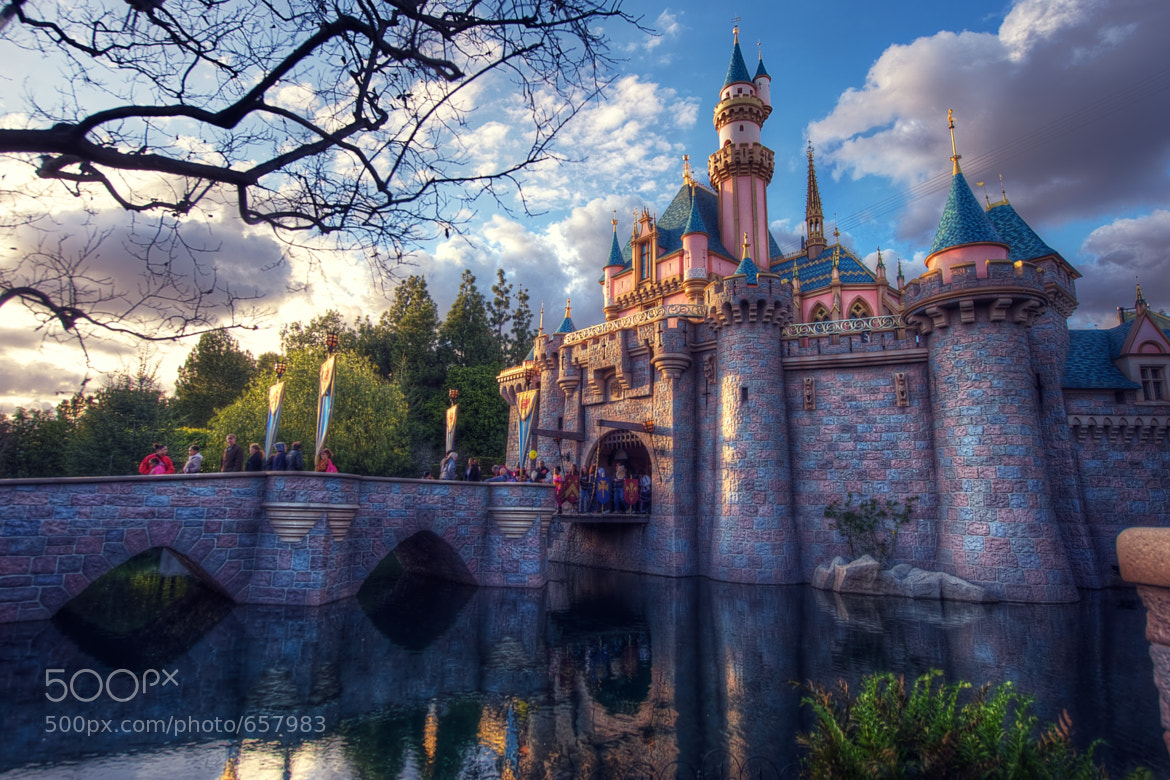 Photograph Sleeping Beauty Castle by James Hilger on 500px