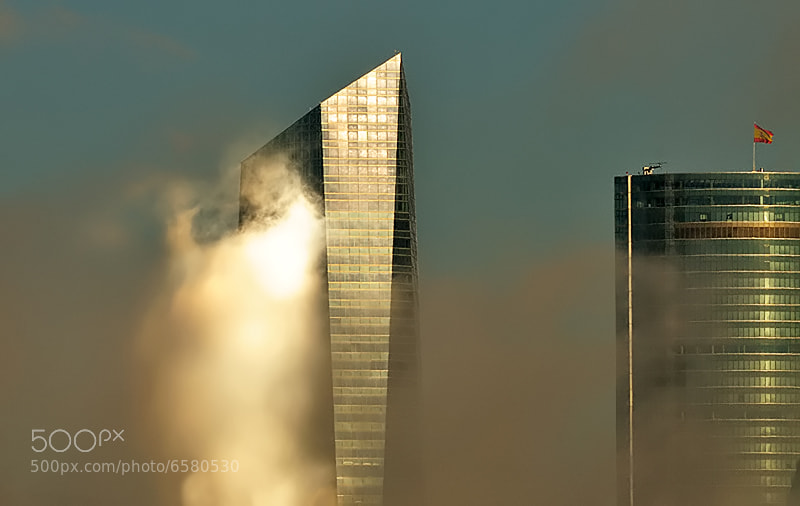 Photograph Clouds over the towers. by Fernando Sánchez on 500px