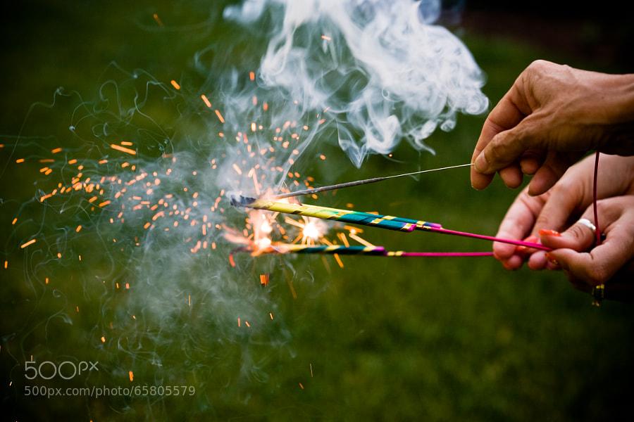 Photograph Smoke & sparks by Joe Albright on 500px