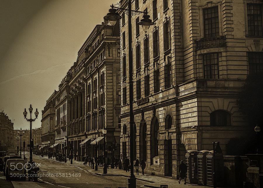 Alternative London Series. Regent Street today, or yesterday! :)!