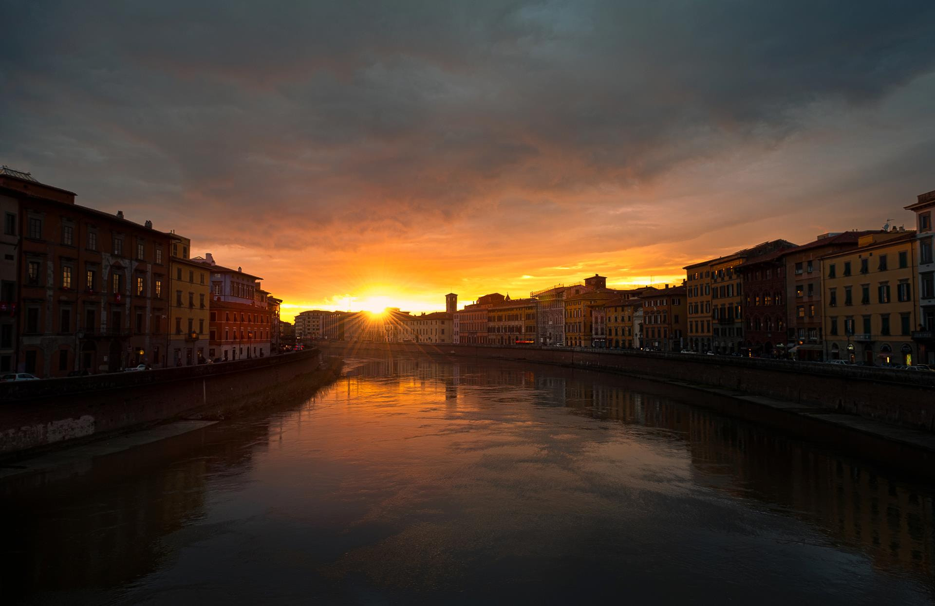 Photograph Pisa at sunset by Marco Sfrecola on 500px
