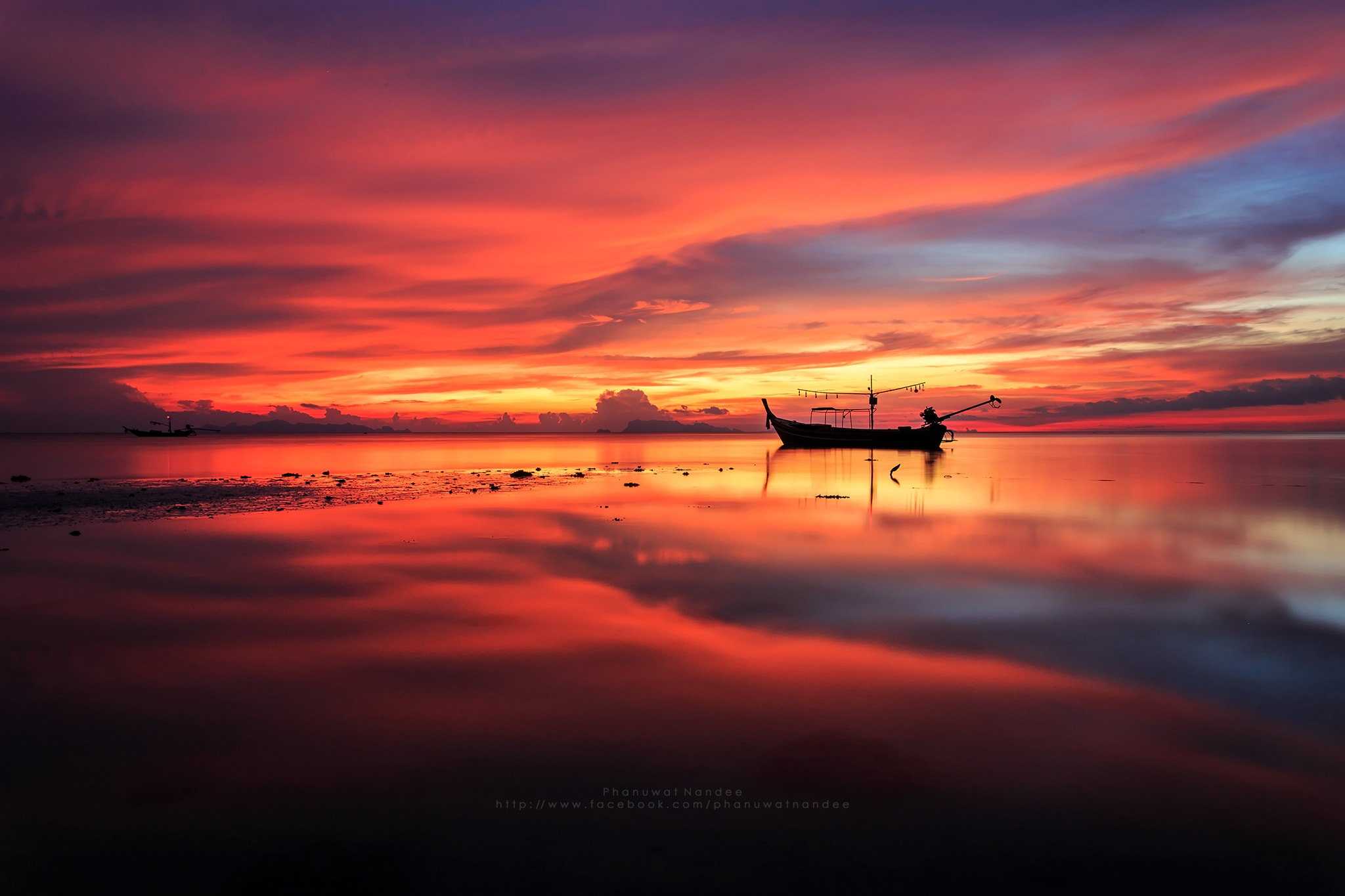 Photograph The Reflection of Sunset by Phanuwat Nandee on 500px