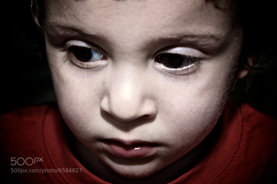 Photograph Sad Boy by jamil ghanayem on 500px