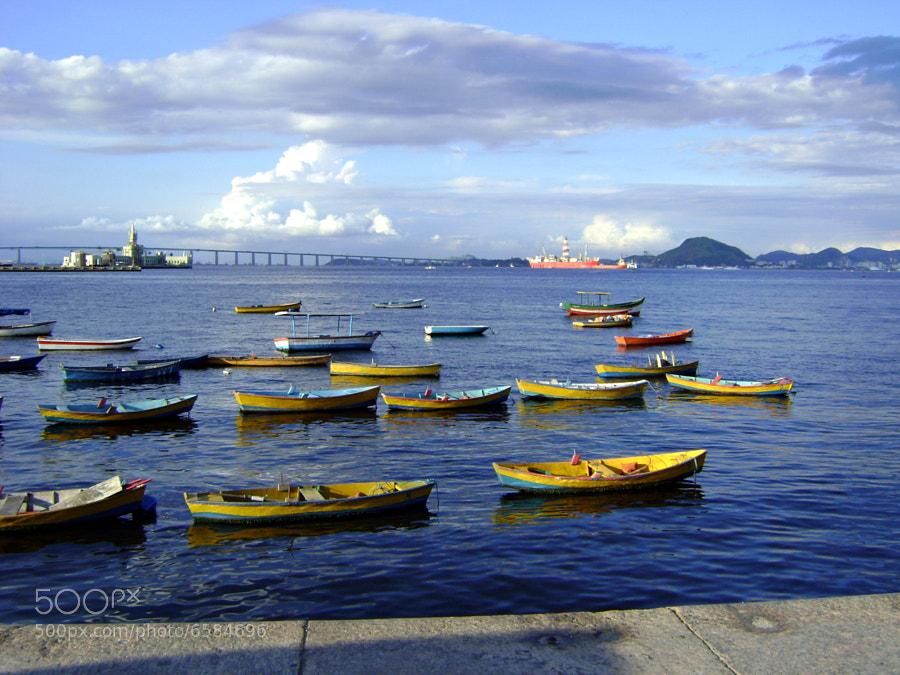 Photograph Guanabara Bay - Rio de Janeiro by Célia Rodrigues on 500px