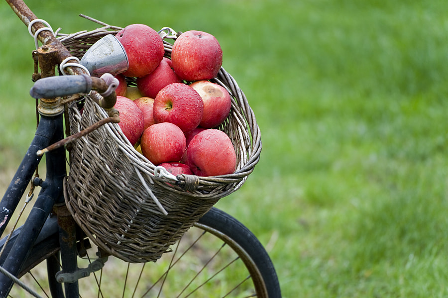 Apples bike by Simone Mantovani on 500px.com