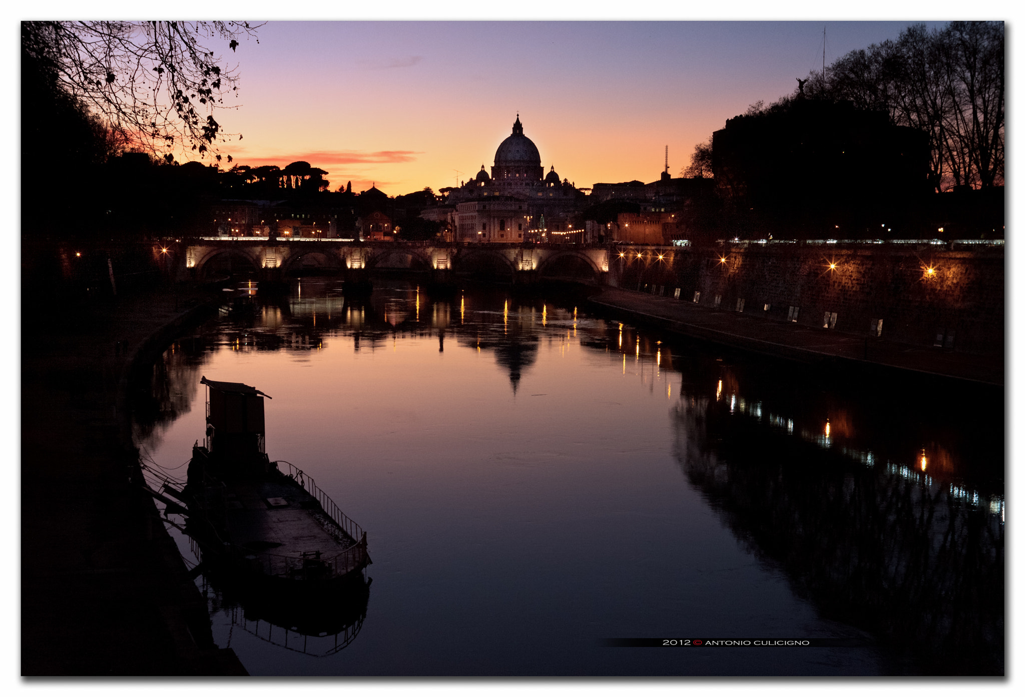 Photograph sunset in Rome by Antonio Culicigno on 500px