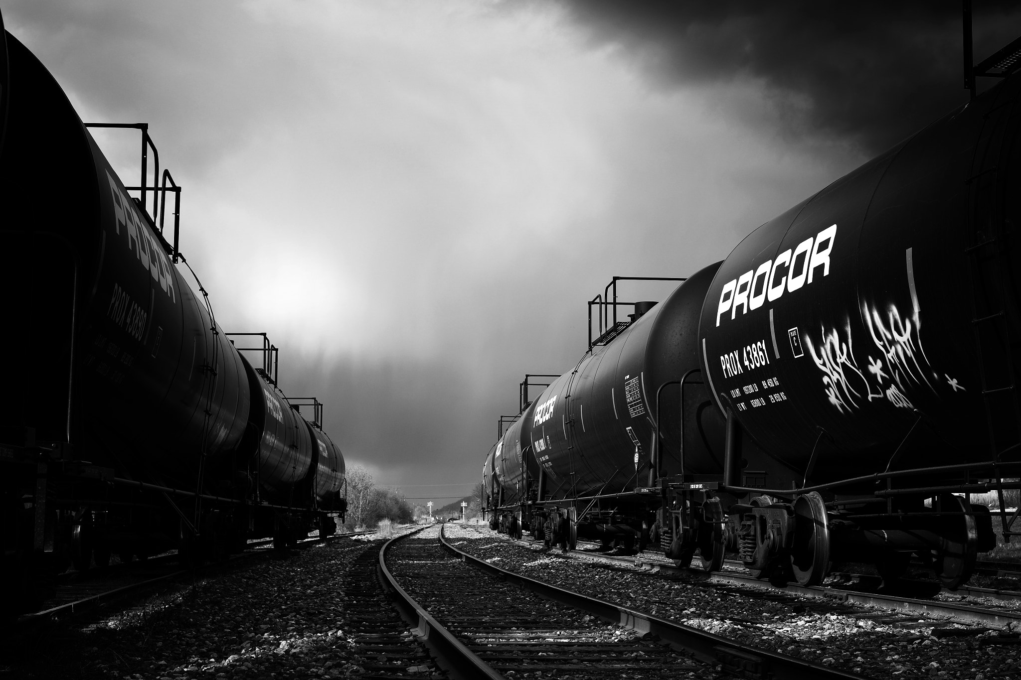 Photograph Down the Track by Morten Byskov on 500px