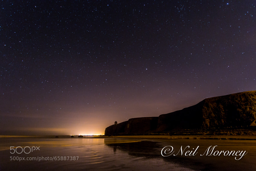 Mussenden Temple under the Night Sky. by Neil Moroney on 500px
