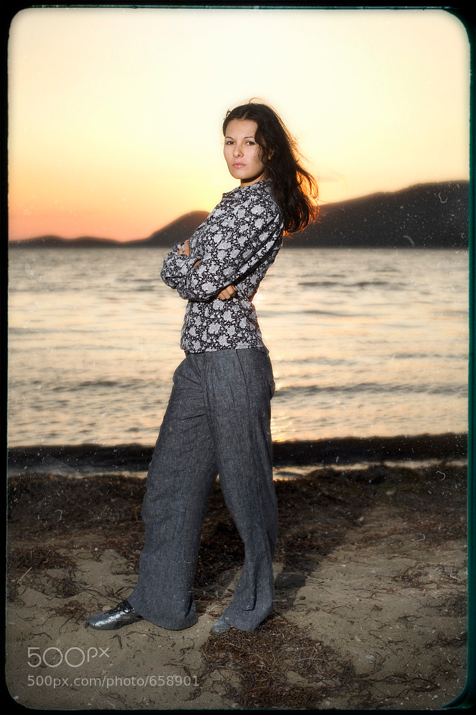 Photograph sad girl on the shore by Roman Zlobin on 500px