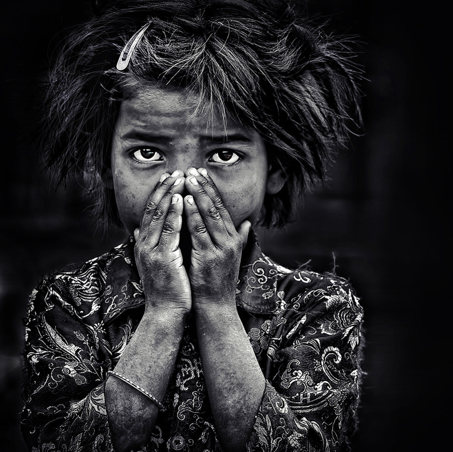 Photograph the little girl and herself by piet flour on 500px
