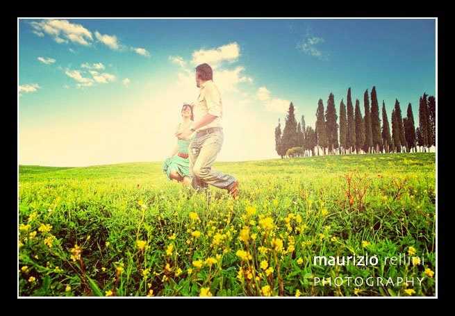 Photograph Val d'Orcia lovers by Maurizio Rellini on 500px