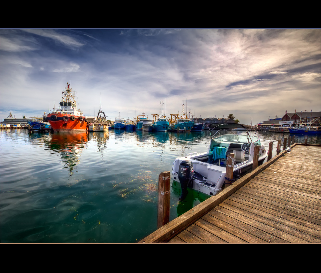 Photograph Boats - Fremantle Fishing Boat Harbour by Bianca K on 500px