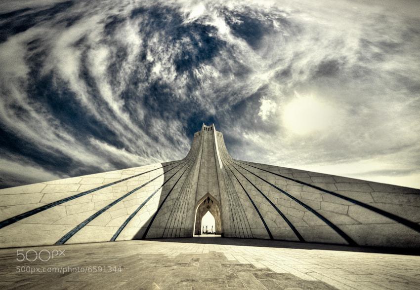 Photograph Azadi Tower by Mohammad Reza Domiri Ganji on 500px