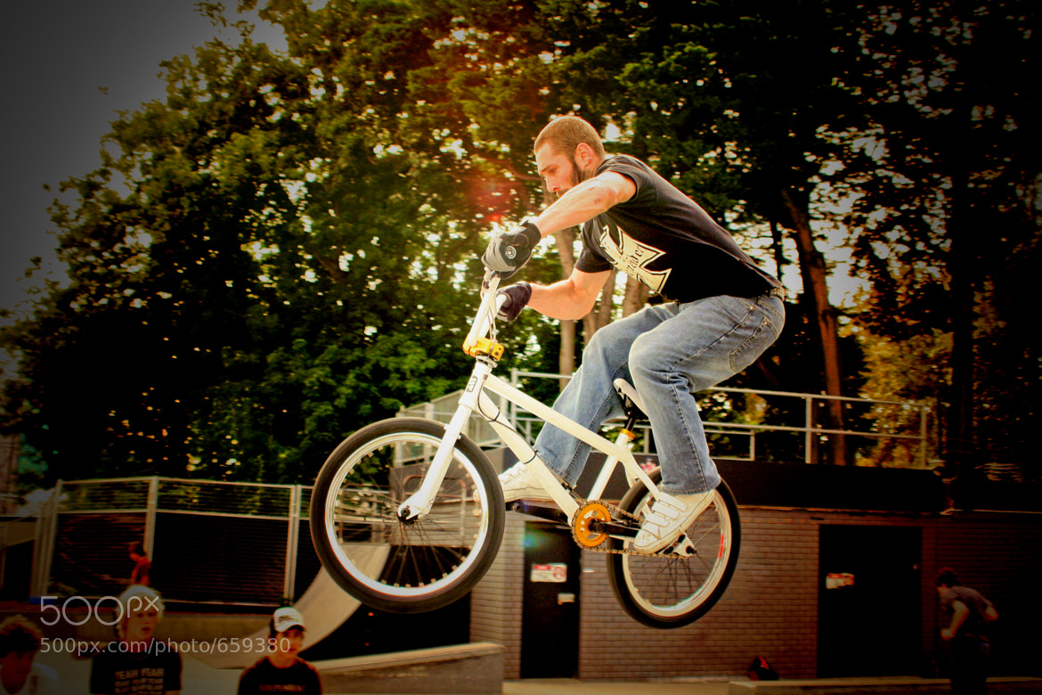 Photograph BMX Knight by Pierre Sauvignon on 500px