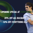 Постер, плакат: Everything Tennis For Tennis Equipment Sydney