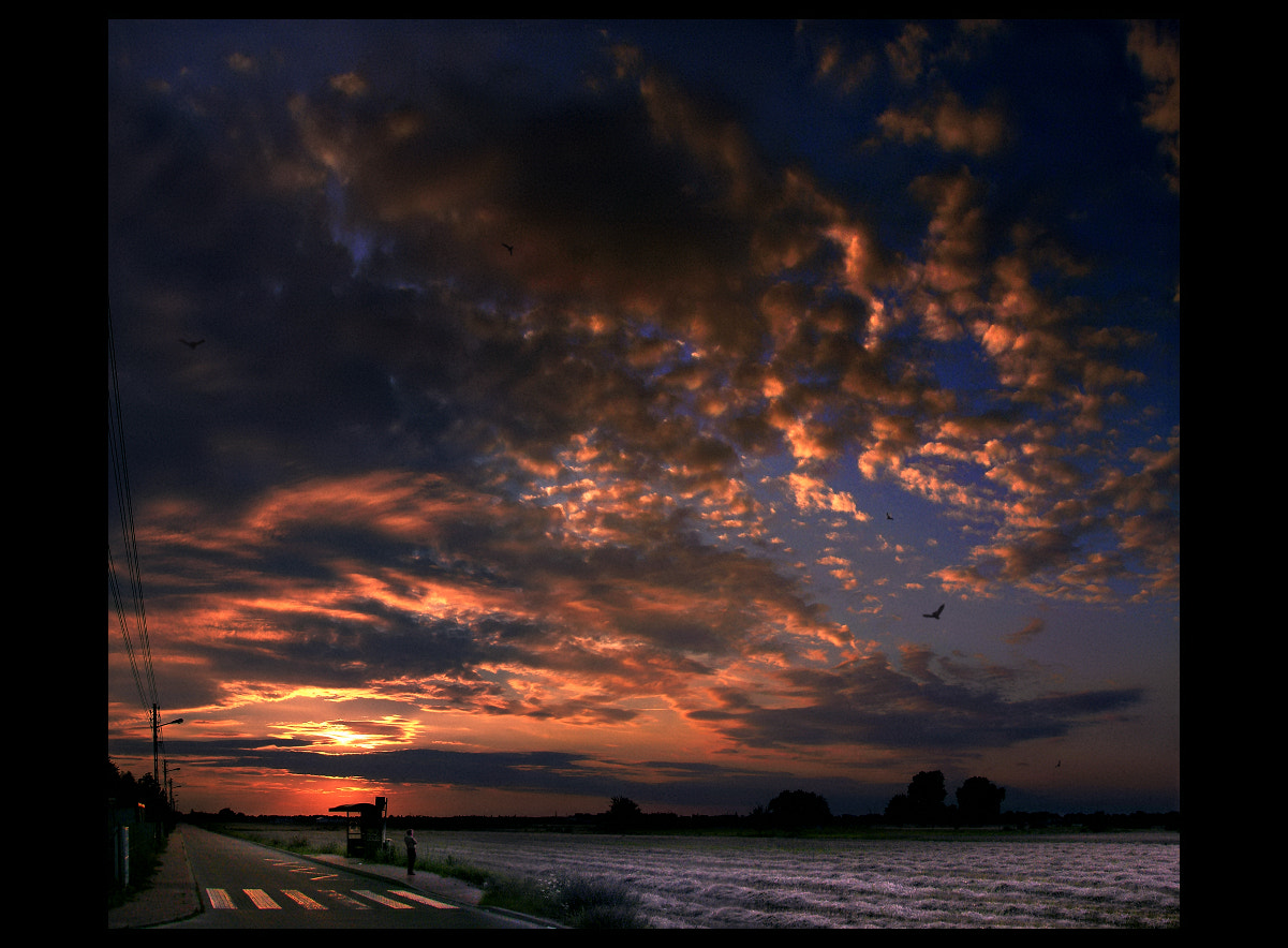 Photograph Bus Station-Heaven  by EMERALD WAKE © on 500px