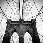 Постер, плакат: Brooklyn Bridge NYC