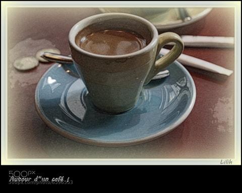 Photograph Café. by lilih G . on 500px