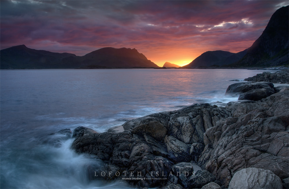 Photograph Midnight Sun by Andreas Stridsberg on 500px