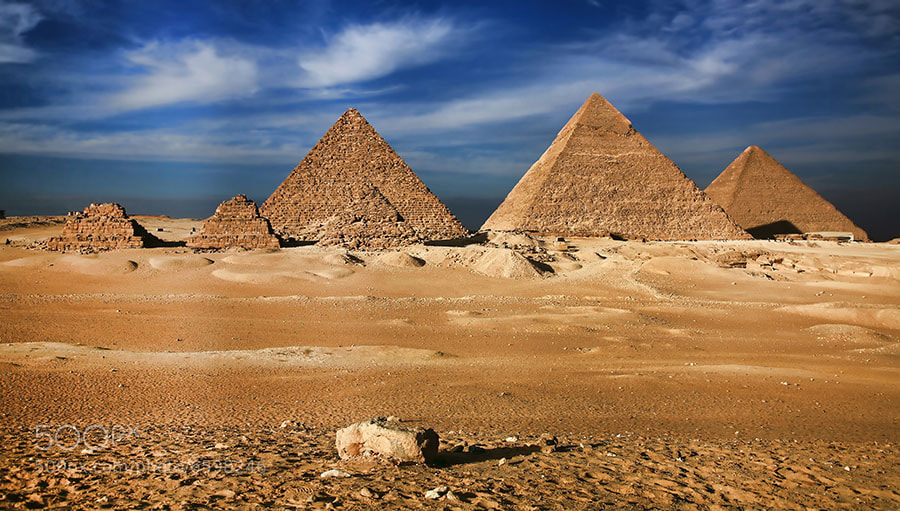 Photograph Egyptian pyramids - Wonder of the World by Sergey Naybich on 500px