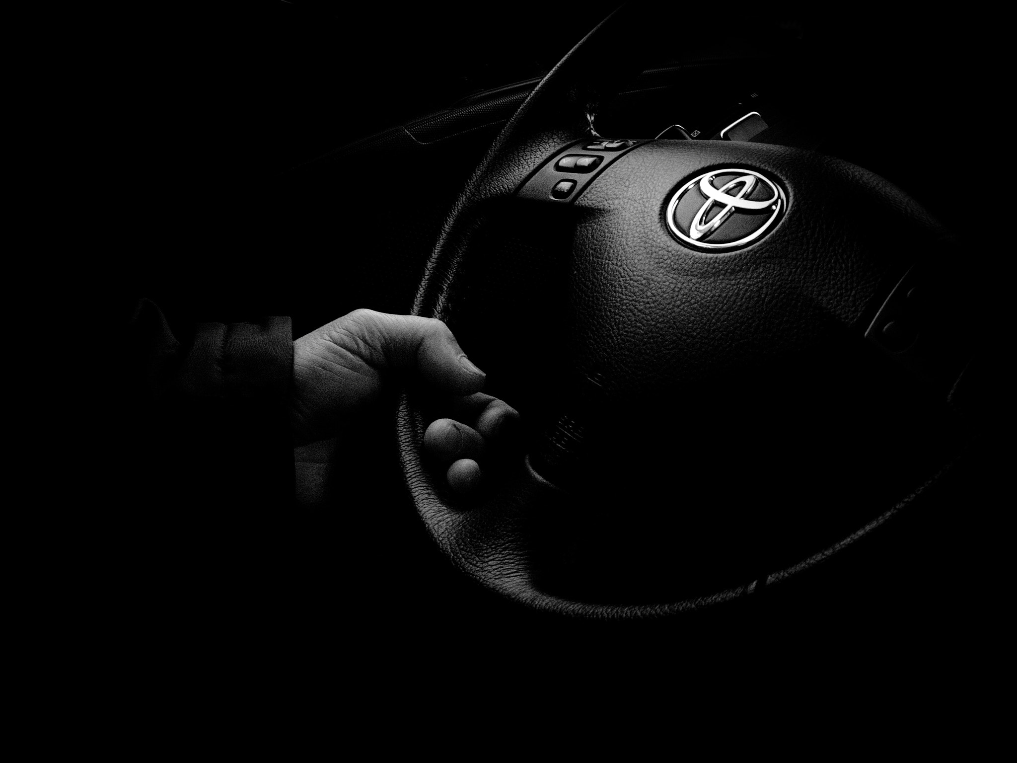 Photograph HIS HAND IS ON THE WHEEL by JUNE FERROL on 500px