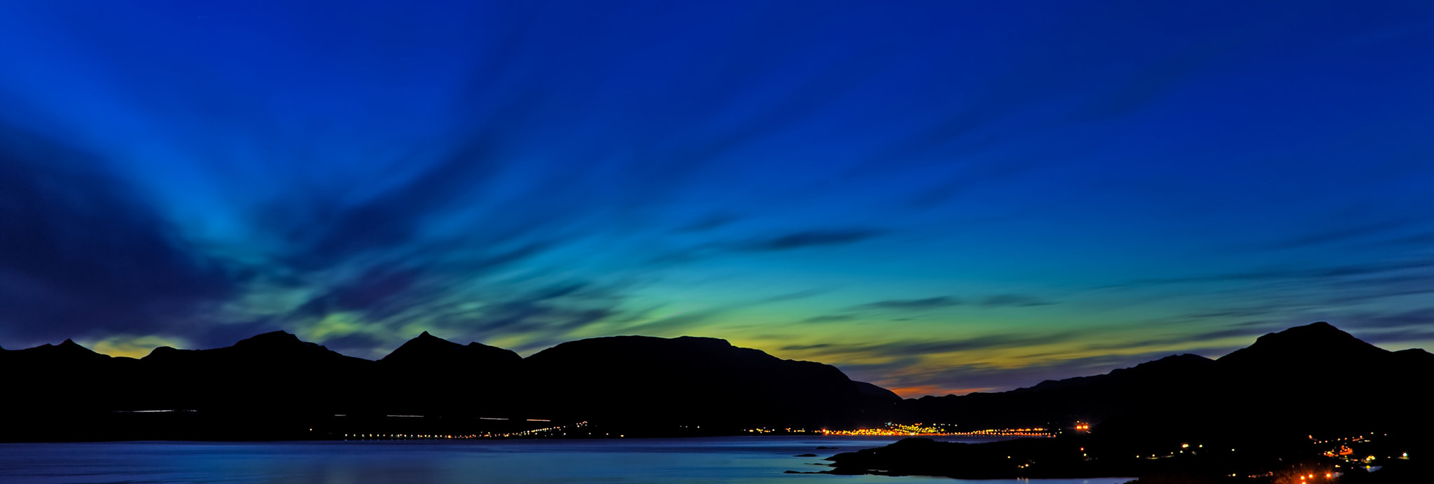 Photograph Herjangen at Night by Robin Holm on 500px