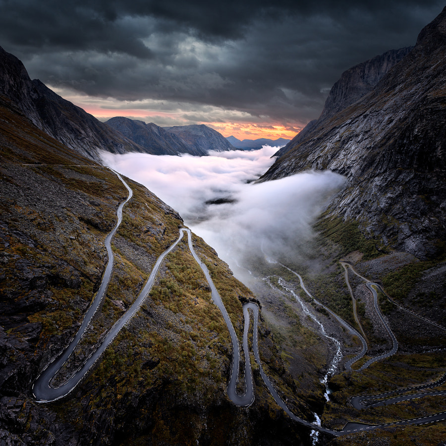 Photograph Trollstigen , Norway . . by pascal Kiszon on 500px