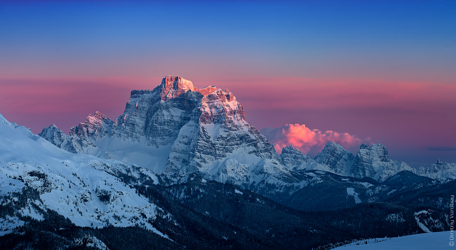 Photograph Monte Pelmo in Sunset by Dmitriy Vorobey on 500px
