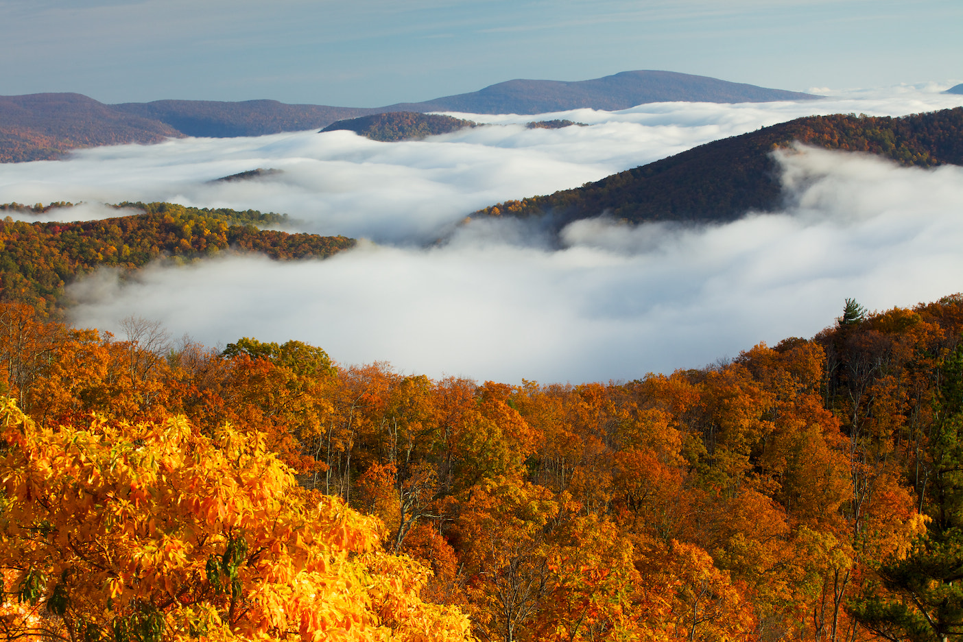 Photograph Skyline Drive by Ben Klaus on 500px