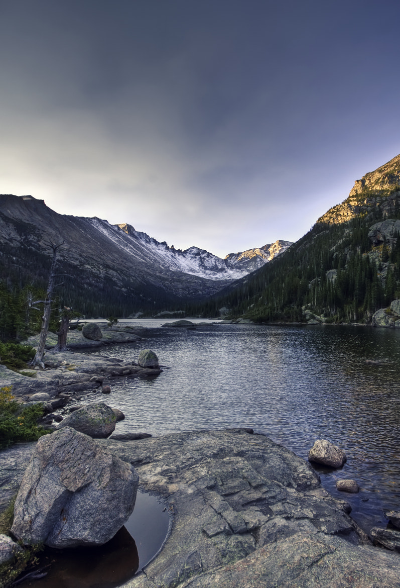 Photograph Mills Lake, Rocky Mountain National Park by Brian Slagenweit on 500px