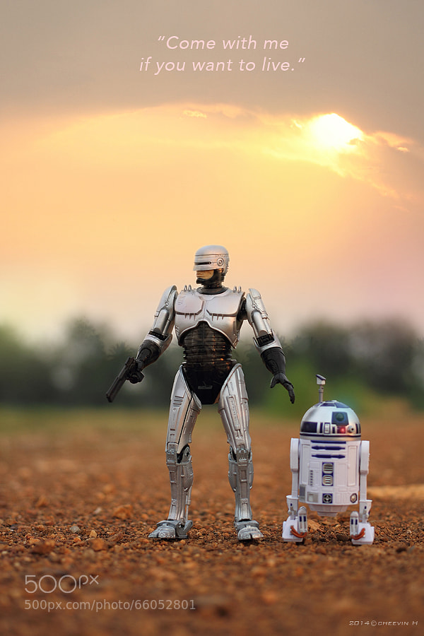 Photograph Robocop & R2D2 by Cheevin H on 500px